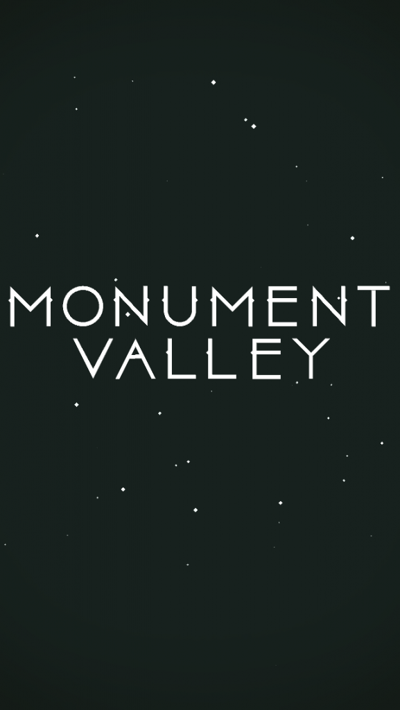 Monument Valley Title